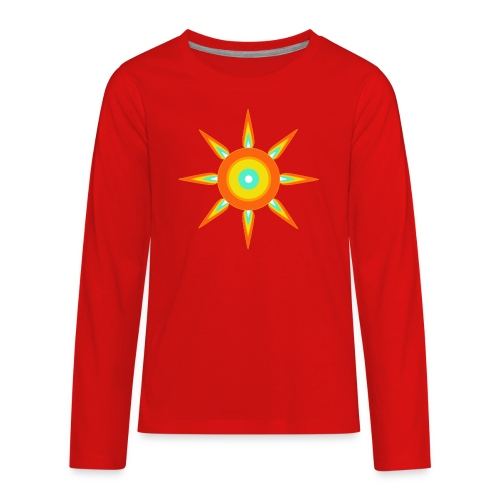 Indian style star - Kids' Premium Long Sleeve T-Shirt