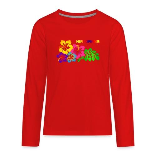 Kia orana - Kids' Premium Long Sleeve T-Shirt