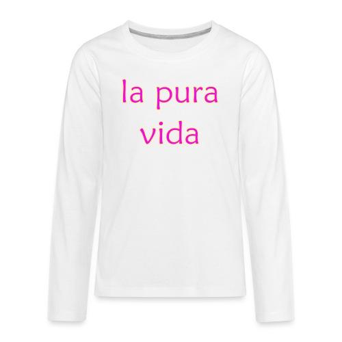 la pura vida - Kids' Premium Long Sleeve T-Shirt