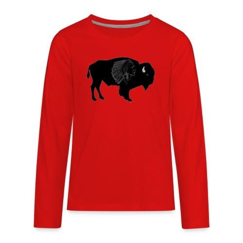 Buffalo warrior - Kids' Premium Long Sleeve T-Shirt