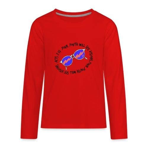 oie_transparent_-1- - Kids' Premium Long Sleeve T-Shirt