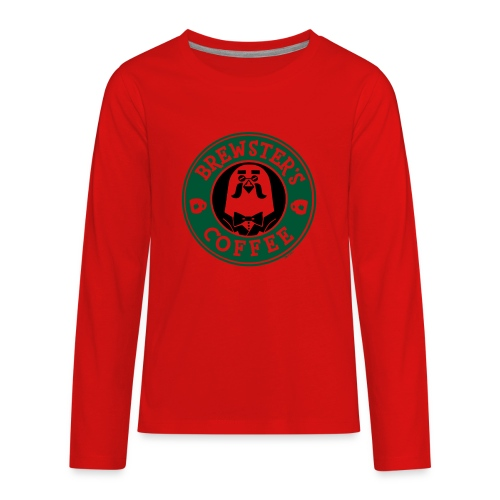 Brewster's Coffee - Kids' Premium Long Sleeve T-Shirt