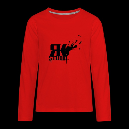 RKStudio Black Version - Kids' Premium Long Sleeve T-Shirt