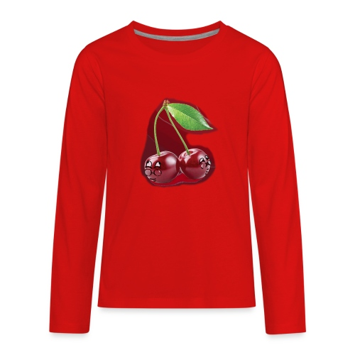 Cherry Bombs - Kids' Premium Long Sleeve T-Shirt
