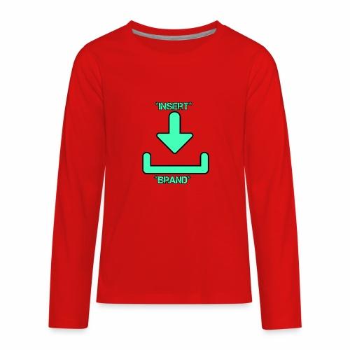 Brandless - Kids' Premium Long Sleeve T-Shirt