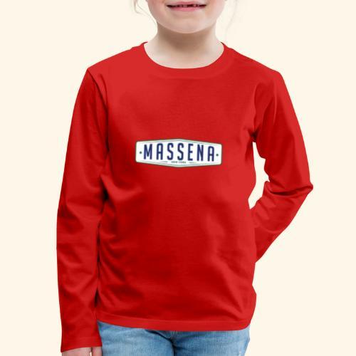 Massena Plate - Kids' Premium Long Sleeve T-Shirt