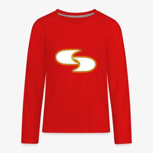 Official Strive Logo - Kids' Premium Long Sleeve T-Shirt