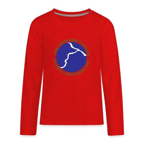 LDO WHITE LOGO - Kids' Premium Long Sleeve T-Shirt