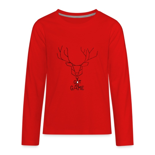Stag GOT GAME - Kids' Premium Long Sleeve T-Shirt