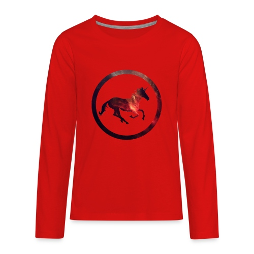 Believe Unicorn Universe 2 - Kids' Premium Long Sleeve T-Shirt