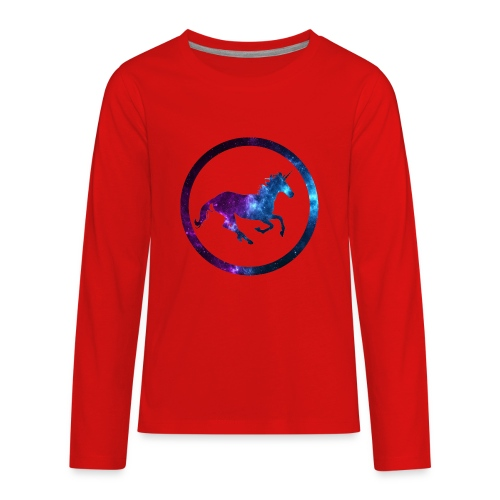 Believe Unicorn Universe 3 - Kids' Premium Long Sleeve T-Shirt
