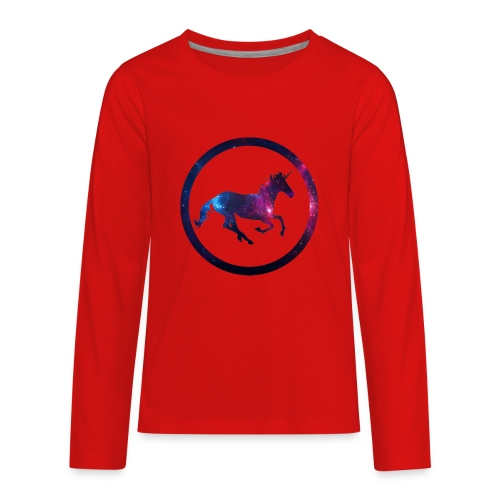 Believe Unicorn Universe 1 - Kids' Premium Long Sleeve T-Shirt