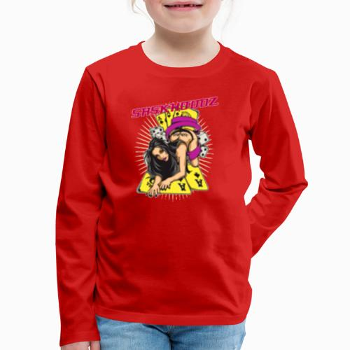 saskhoodz girl - Kids' Premium Long Sleeve T-Shirt