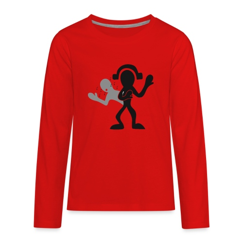 music for soul - Kids' Premium Long Sleeve T-Shirt