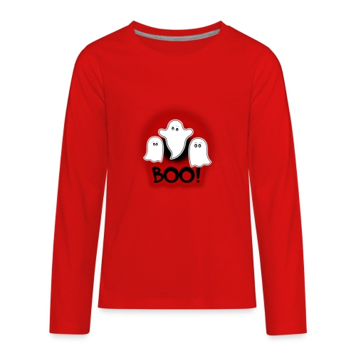Ghosties Boo Happy Halloween 5 - Kids' Premium Long Sleeve T-Shirt