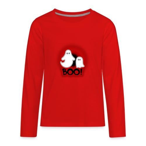 Ghosties Boo Happy Halloween 2 - Kids' Premium Long Sleeve T-Shirt