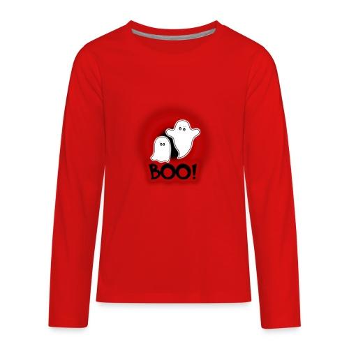 Ghosties Boo Happy Halloween 1 - Kids' Premium Long Sleeve T-Shirt