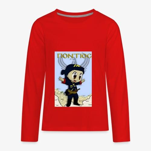 Cartoon - Pontian... fly like an eagle - Kids' Premium Long Sleeve T-Shirt
