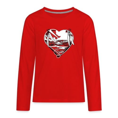 Earth is for Earth Lovers - Kids' Premium Long Sleeve T-Shirt