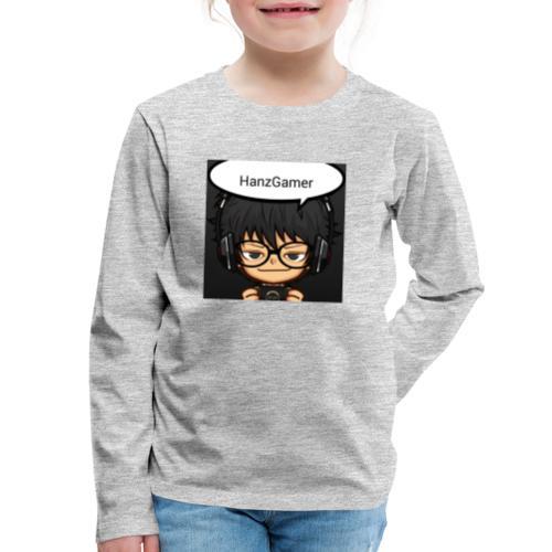 Official Logo - Kids' Premium Long Sleeve T-Shirt