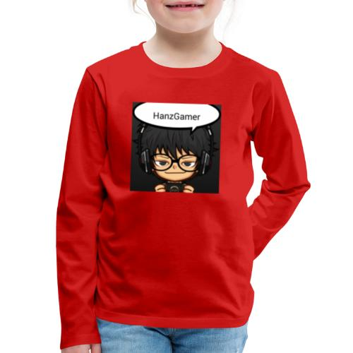 Official Logo - Kids' Premium Long Sleeve T-Shirt