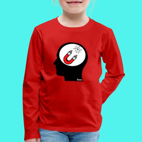 BMG- Attraction Law Mindset Collection - Kids' Premium Long Sleeve T-Shirt
