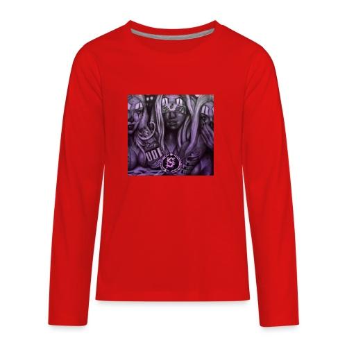 see no hear no - Kids' Premium Long Sleeve T-Shirt