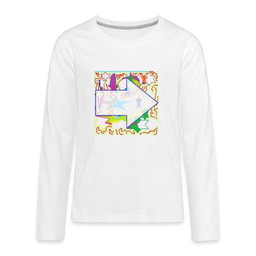 shapes - Kids' Premium Long Sleeve T-Shirt
