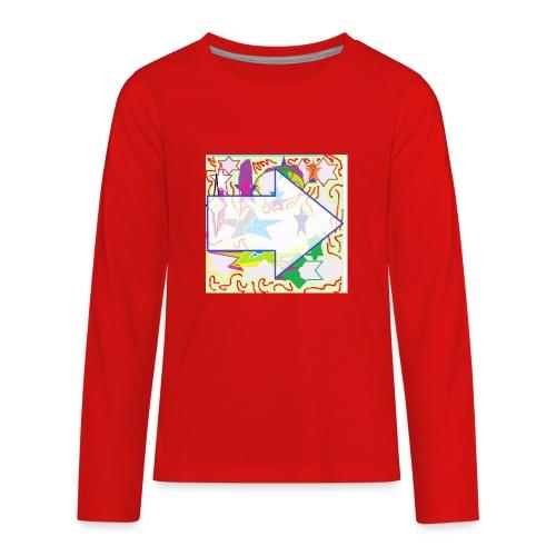 shapes - Kids' Premium Long Sleeve T-Shirt