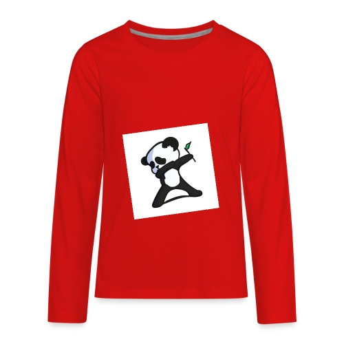 Panda DaB - Kids' Premium Long Sleeve T-Shirt