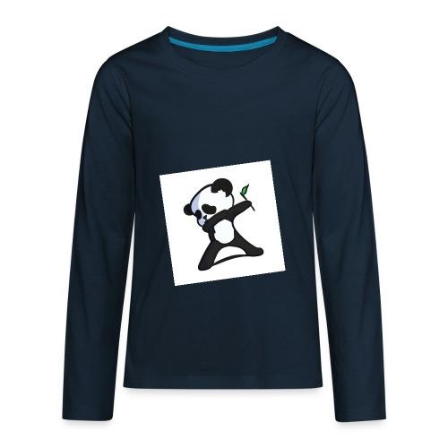 Panda DaB - Kids' Premium Long Sleeve T-Shirt