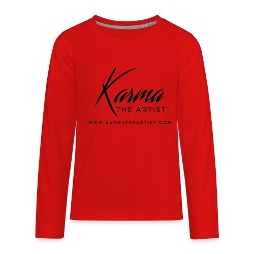 Karma - Kids' Premium Long Sleeve T-Shirt