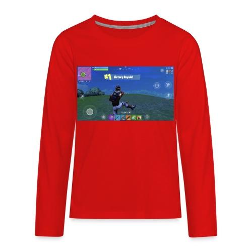 My First Win! - Kids' Premium Long Sleeve T-Shirt