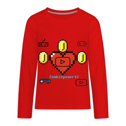 Zombiepower12 - Kids' Premium Long Sleeve T-Shirt