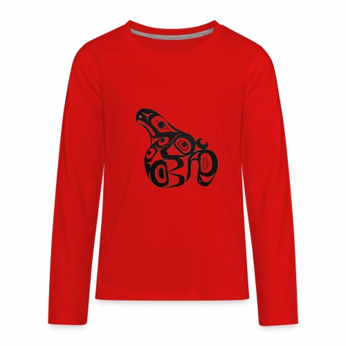 Killer Whale - Kids' Premium Long Sleeve T-Shirt