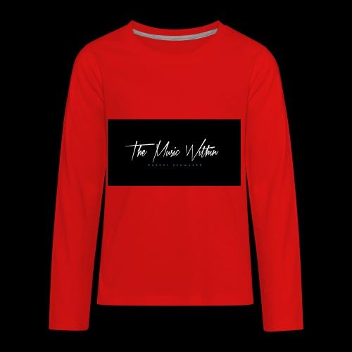 the music within mens hoodie - Kids' Premium Long Sleeve T-Shirt