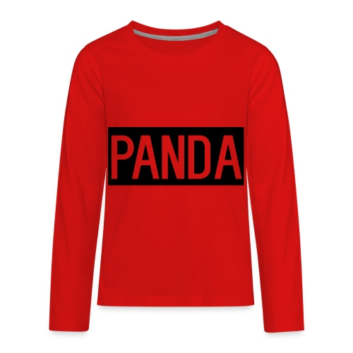ItsThePanda - Kids' Premium Long Sleeve T-Shirt