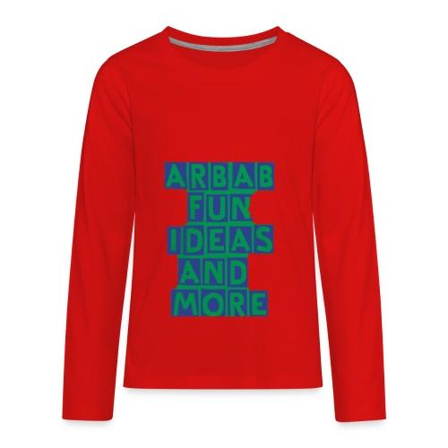 64EF8BB2 2D8E 4DAD B9E4 4F8CCBBF34C5 - Kids' Premium Long Sleeve T-Shirt