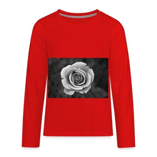 dark rose - Kids' Premium Long Sleeve T-Shirt