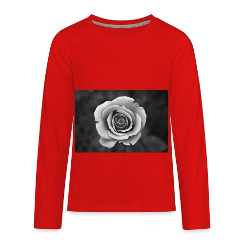 dark rose - Kids' Premium Long Sleeve T-Shirt