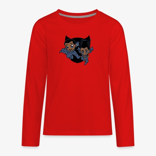 ReckLess Youngster Superhero - Kids' Premium Long Sleeve T-Shirt
