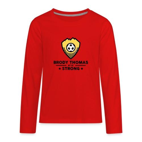 BT 10 STRONG - Kids' Premium Long Sleeve T-Shirt