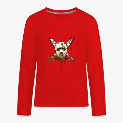 Exclusive Jason Vorhees Xay Papa edition Mask - Kids' Premium Long Sleeve T-Shirt