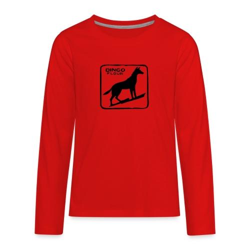 Dingo Flour - Kids' Premium Long Sleeve T-Shirt