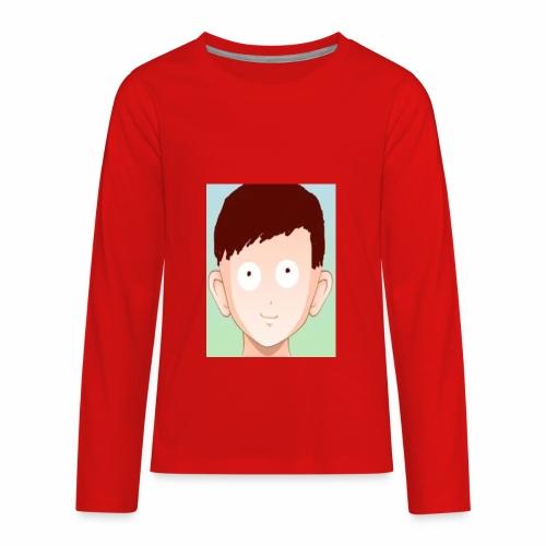 Logo Merch - Kids' Premium Long Sleeve T-Shirt