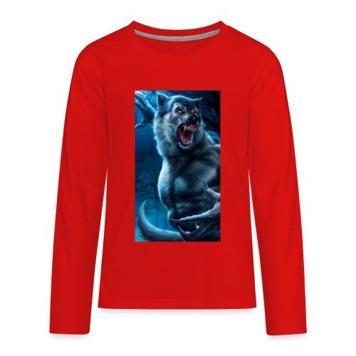 Werewolf - Kids' Premium Long Sleeve T-Shirt
