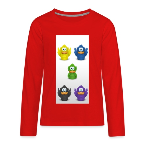 5 adiumys png - Kids' Premium Long Sleeve T-Shirt