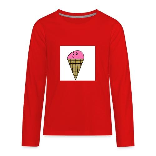 ICE CREAM - Kids' Premium Long Sleeve T-Shirt