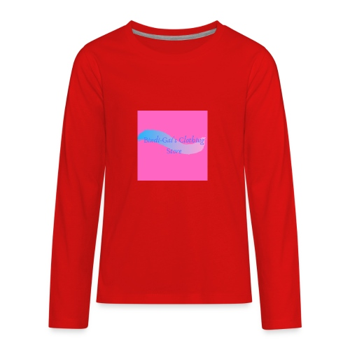 Bindi Gai s Clothing Store - Kids' Premium Long Sleeve T-Shirt