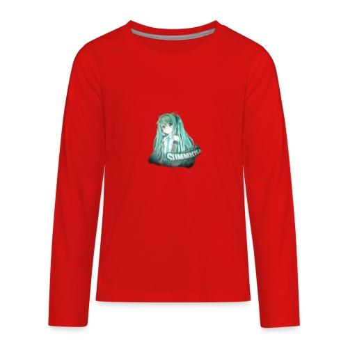 Summrrz Logo Transparent - Kids' Premium Long Sleeve T-Shirt